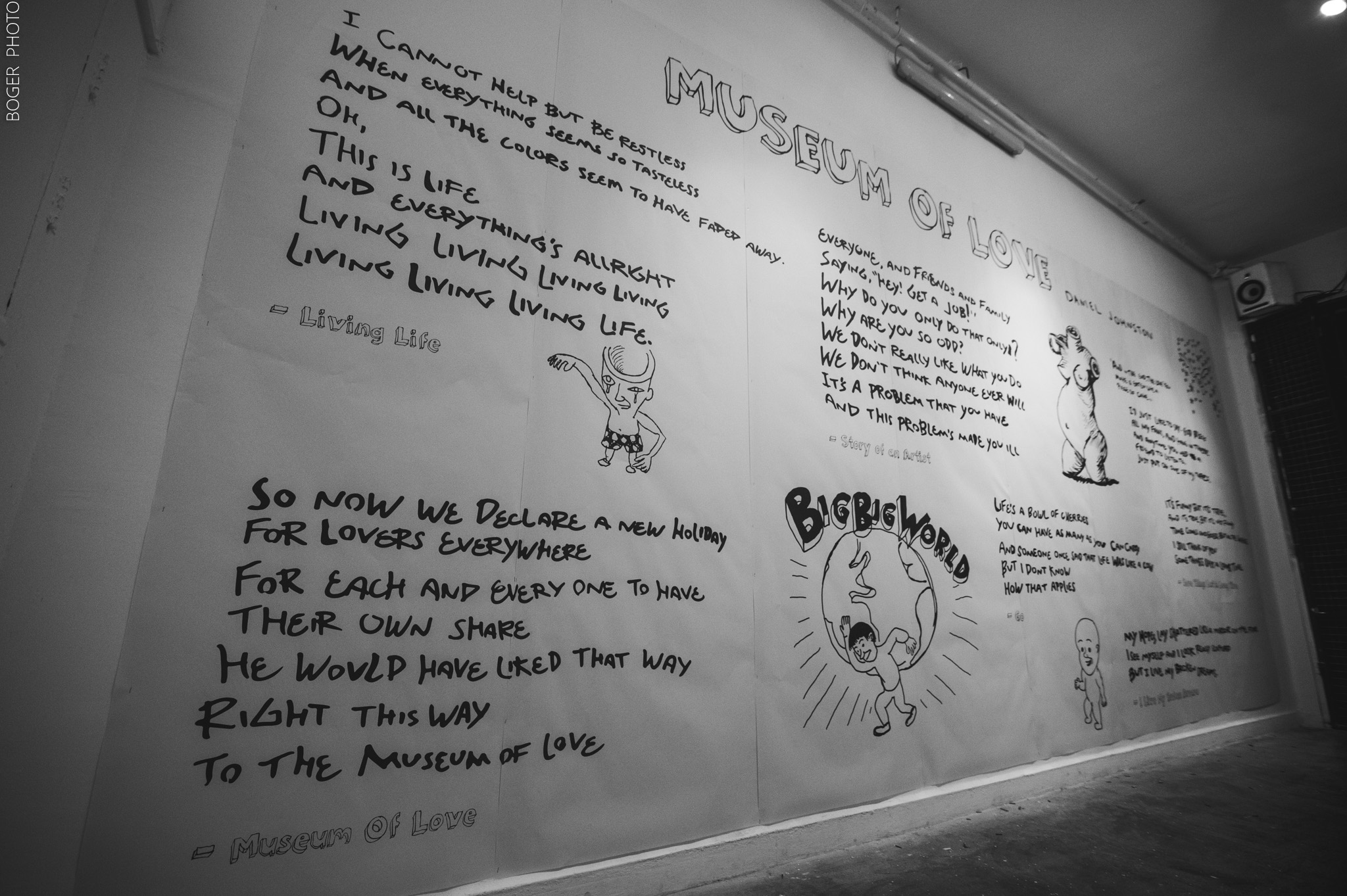Daniel Johnston's Tribute. Credit: Yonathan Boger