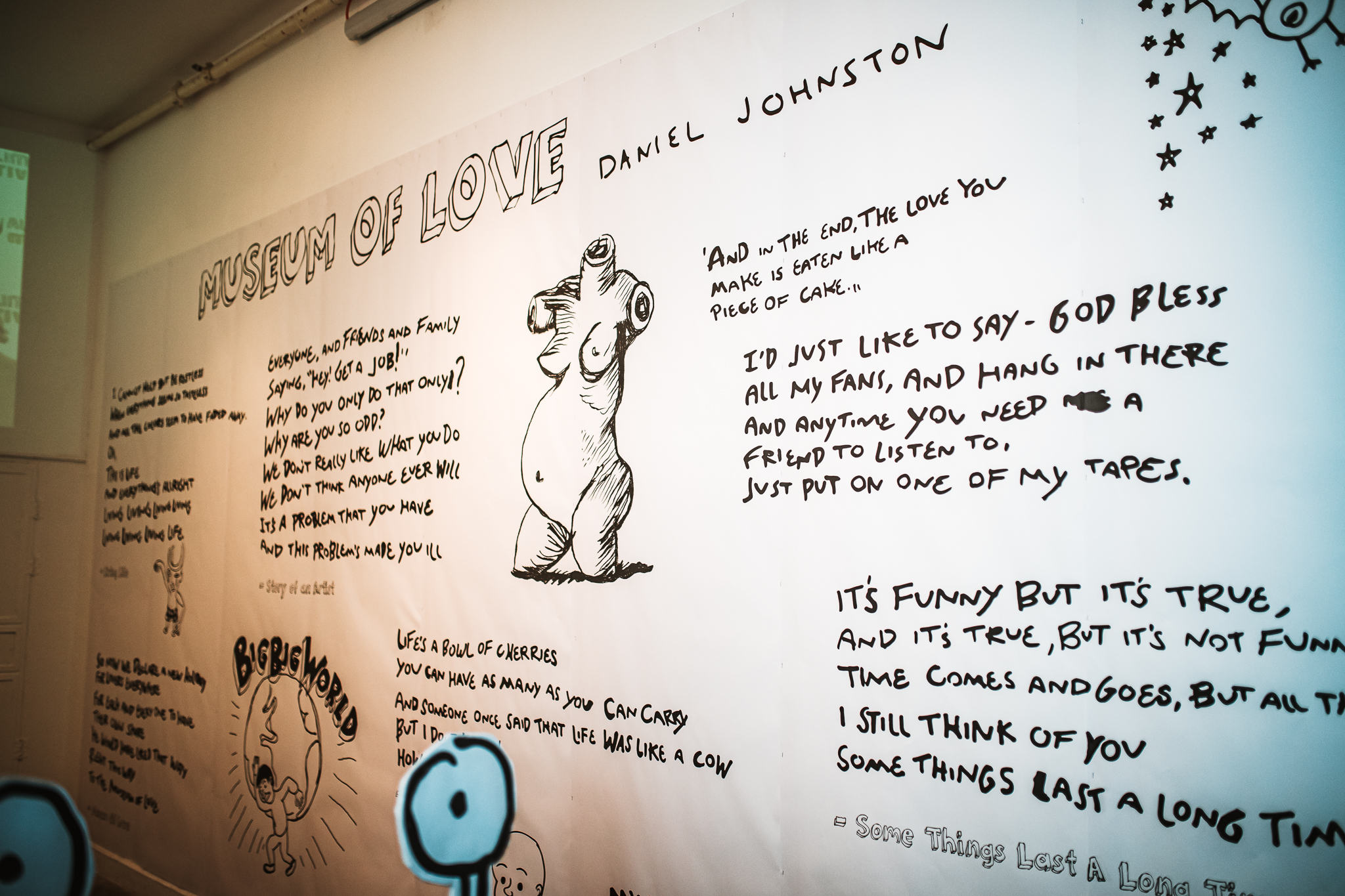 Daniel Johnston's Tribute. Credit: Yossi Ergil